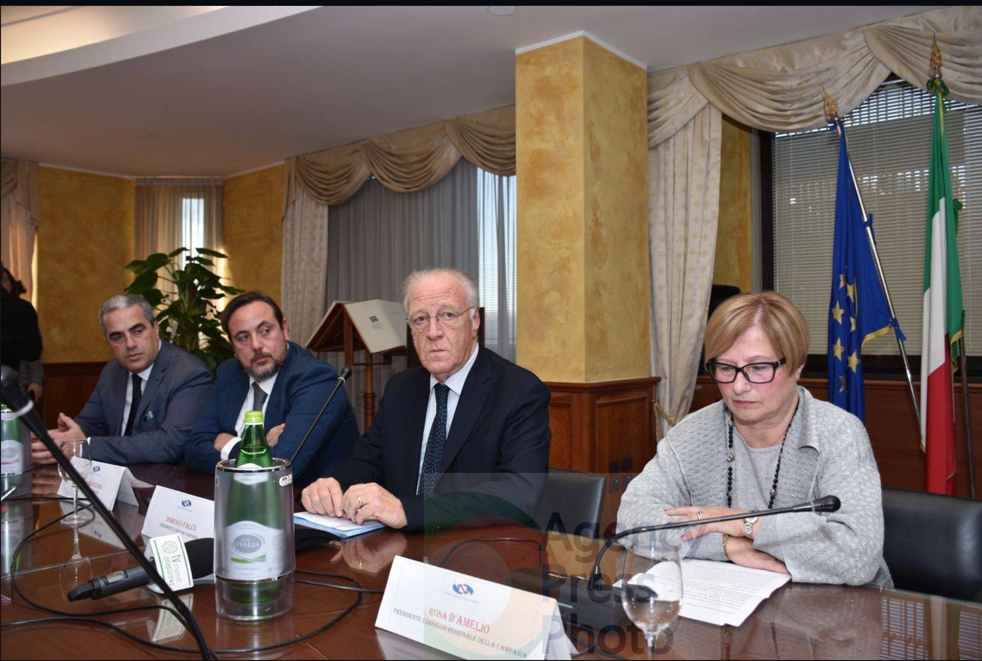 Tavolo di presentazione seconde deleghe Corecom Campania