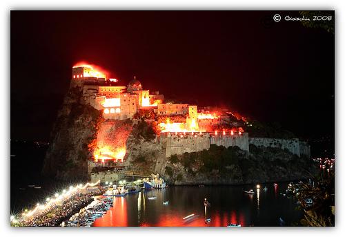 L'incantevole scenario della Festa di Sant'Anna (photo: Giorgio Di Iorio)