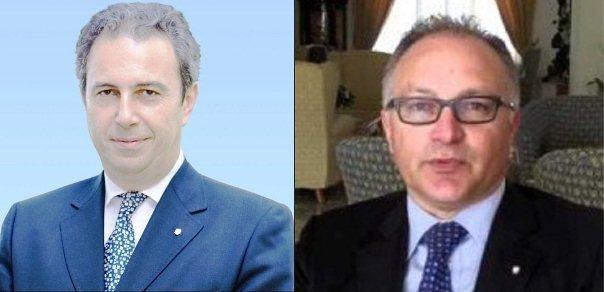 Luciano Bazzoli e Ermando Mennella